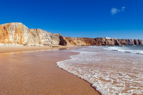 There are five, the closest beaches to the Cabo de Sagres. Each beach is unique.